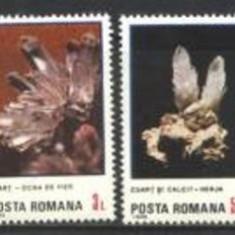 Romania 1985 - FLORI DE MINA, serie nestampilata B17/AD125