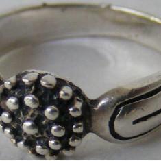 Inel vechi din argint (90) - de colectie