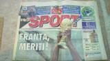 ziarul pro sport 13 iulie 1998 (franta castiga cupa mondiala )