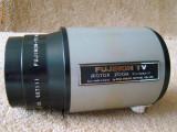 Teleobiectiv FUJINON TV MOTOR ZOOM ( C5x20MA-3) montaj la camera - filet exterior de 25 mm. si/sau 40 mm (variante existente).