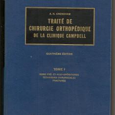 Tratat de chirurgie ortopedica vol.1-6 in limba franceza  LIBRAIRIE MALOINE
