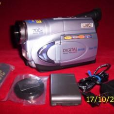 Camera video(whs C)  JVC  zoom digital 700X noua in tzipla