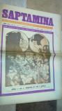 ziarul saptamana 7 septembrie 1973