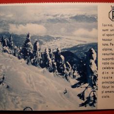 Carte postala - ROMANIA, Societatea Comerciala Oficiala de Turism - Iarna in Carpati