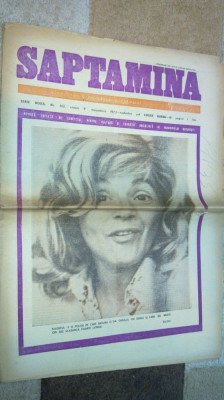 ziarul saptamana 9 noiembrie 1973 foto