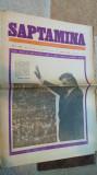 ziarul saptamana  22 iunie 1973