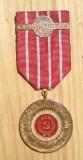 Medalie / placheta: Cinci decenii PCR (1921-71). Bronz