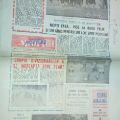 ziarul sportul supliment fotbal  27 ianuarie 1989