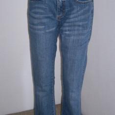 Pantaloni dama blug Lee marime M USA, Albastru