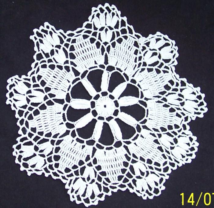 dantele identice crosetate manual din bumbac alb, model specific ramanesc, Ardeal-Alba, 1950, stare IMPECABILA