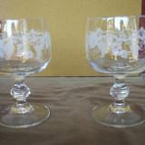 pahar deosebit-pret pe bucata