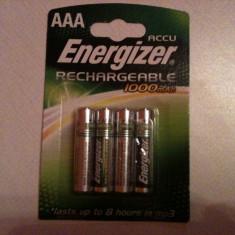 Energizer AAA HR 03 ACCU Recharger 1000 mAh  ,, noua ''