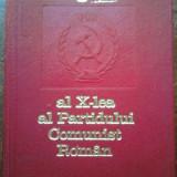CONGRESUL AL X-LEA AL PARTIDULUI COMUNIST ROMAN