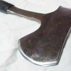 TOPORISCA pentru macelari, Toporisca BUCATARIE, SATAR, perfect functionala, FOLOSIT, TRANSPORT GRATUIT - Metal/Fonta