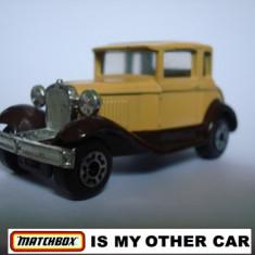 MATCHBOX-FORD MODEL A- ++2000 DE LICITATII !! - Macheta auto Matchbox, 1:64