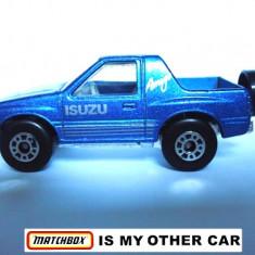 MATCHBOX-ISUZU AMIGO-++2000 DE LICITATII !! - Macheta auto Matchbox, 1:64