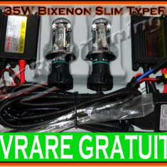 KIT BIXENON TYPER SLIM 35W - H4 - 4300K, 5000K, 6000K, 8000K
