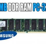 Memorie desktop Samsung 512Mb DDR 400Mhz PC3200 - Transport Gratuit - Memory(A67) - Memorie RAM