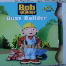 Carte cartonata lucioasa Bob the Builder Constructorul story ilustrata - Carte personalizata