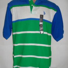 Tricou original US Polo Assn - 18 ani - barbati - marime S - Tricou barbati, Maneca scurta
