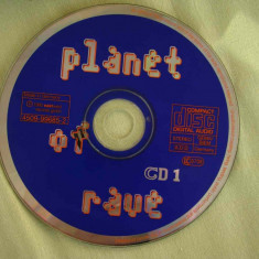 PLANET OF RAVE - Compilatii House - 2 C D Originale - Muzica House