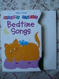 Carte copii cartonata Bedtime Songs cantece de leagan story ilustrata