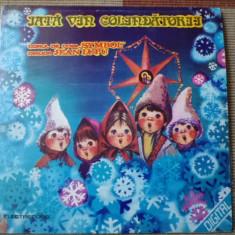 Iata vin Colindatorii corul de copii Symbol disc vinyl Muzica pentru copii electrecord lp, VINIL