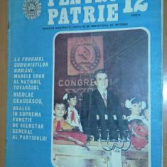 Revista pentru patrie nr.12/1984 - Revista casa