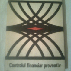 CONTROLUL FINANCIAR PREVENTIV ~ GH.I. ENACHE - Carte despre fiscalitate