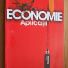 ECONOMIE  -- Aplicatii  -- Angelescu Coralia  -- [  editia  a 5-a, 2005, 312 p. ]