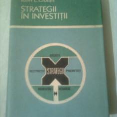 STRATEGII IN INVESTITII  ~ IOAN L. CIOLAN