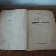 CARTE, ECATERINA TEODOROIU, ANUL 1951 - Carte de aventura