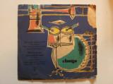 Disc vinil vinyl pick-up AMIGA Zwei junge Herzen Gittaren klingen leise durch die Nacht FORMAT MIC rar vechi colectie