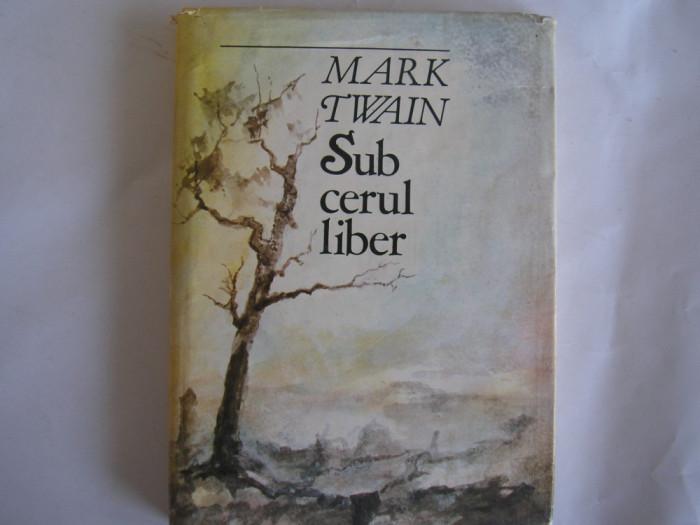 Mark Twain - Sub cerul liber,r5,RF11/1