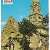Carte postala(ilustrata)-HUNEDOARA-Biserica din Densus, Necirculata, Printata, Europa
