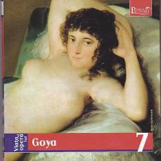 Viata si opera lui Goya, colectia Adevarul 2009, 160 pagini