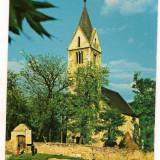 Carte postala(ilustrata)-HATEG-Biserica Sintamarie Orlea, Necirculata, Printata, Europa