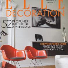 Doua Reviste Elle Decoration, Septembrie si Noiembrie 2008