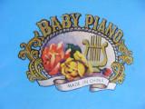 PIAN cu PERCUTIE tip TAMBAL,de COLECTIE pentru COPII,VECHI ,BABY PIANO