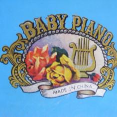 PIAN cu PERCUTIE tip TAMBAL, de COLECTIE pentru COPII, VECHI, BABY PIANO - Orga