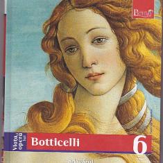 Viata si opera lui Botticelli, colectia Adevarul 2009, 160 pagini