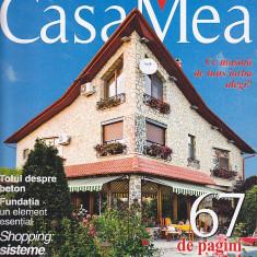 Revista Casa Mea, august 2008