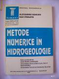 Cumpara ieftin METODE NUMERICE IN HIDROGEOLOGIE - ALEXANDRU DANCHIV SI DAN STEMATIU