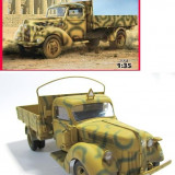 + Macheta 1/35 ICM 35411 - German Truck V3000S (1941 Production) +