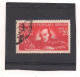 No(3)timbre-Romania- 1948 -  130 DE ANI DE LA NASTEREA LUI NICOLAIE BALCESCU.-serie stampilata
