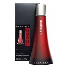 Parfum Hugo Boss Deep Red feminin, apa de parfum 90ml - Parfum femeie