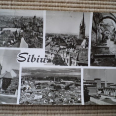 Sibiu circulata - Carte Postala Transilvania dupa 1918, Fotografie