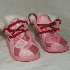 Botosei copii BOBBY SHOES - nr 17 - Botosi copii, Culoare: Roz