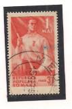 (No3)timbre-Romania 1950 --1 MAI - stampilat