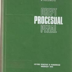 N. Volonciu - Drept Procesual Penal (1972, 541 p.) - Carte Drept penal